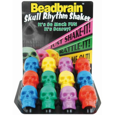 SKULL SHKR ASST COLOR 12PC DSP