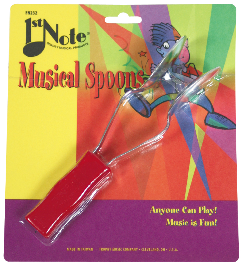 (ea)FIRSTNOTE MUSICAL SPOONS  disc by vendor