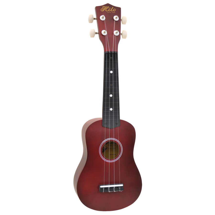 (ea)HILO UKE TRANSPARENT RED