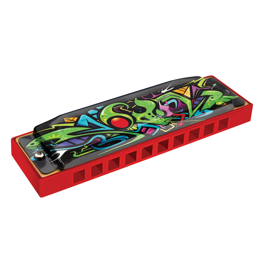 (ea)HOHNER RED DRAGON TAGGED A