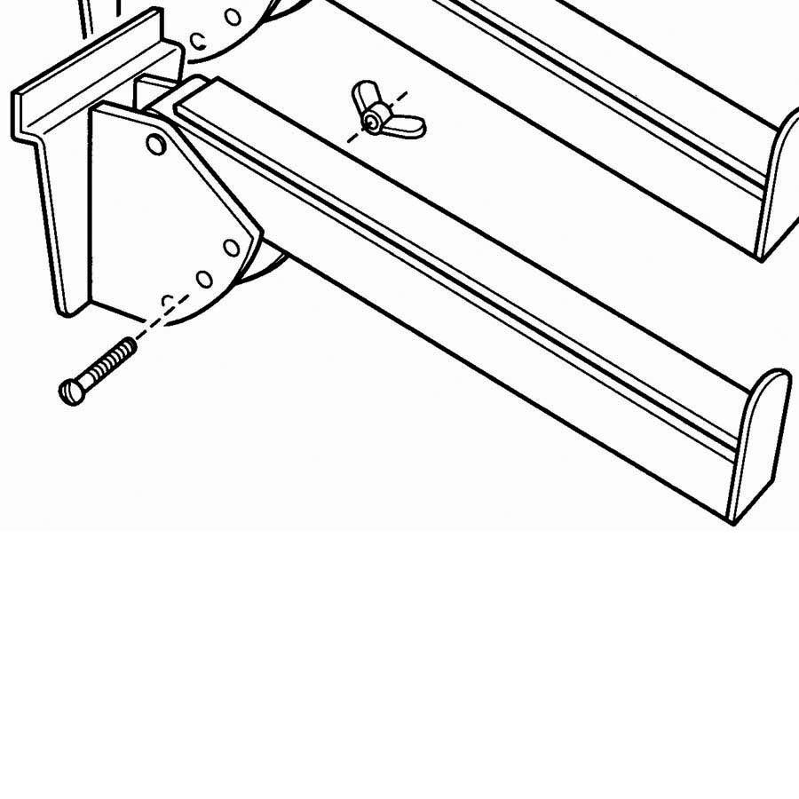 (Pr)KEYBOARD ARMS PAIR