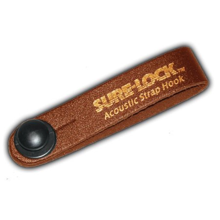 (ea)ACOUSTIC STRAP HOOK-BROWN