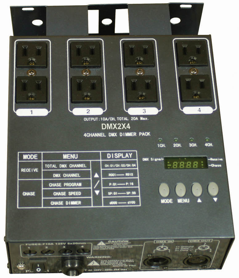 (ea)4 CHANNEL DIMMER PACK