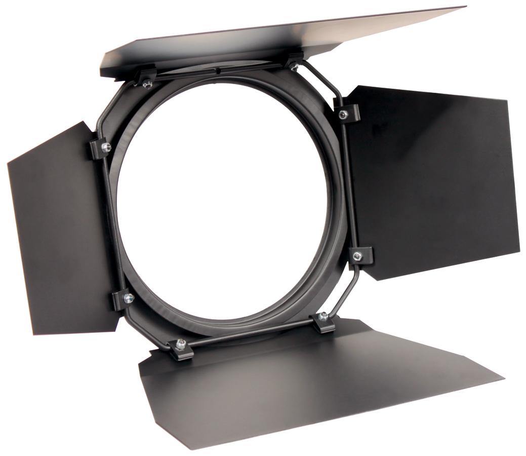 (ea)FLEXIPAR BARN DOOR BLACK