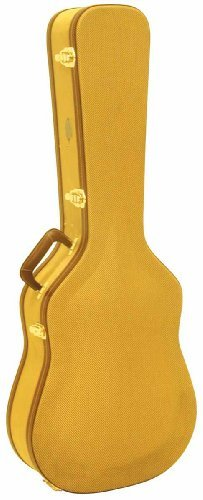 (ea)ACOUSTIC GUITAR CASE-TWEED