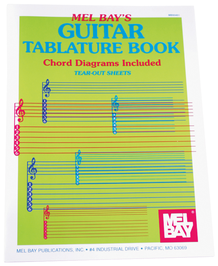 MEL BAY GUITAR TAB BOOK