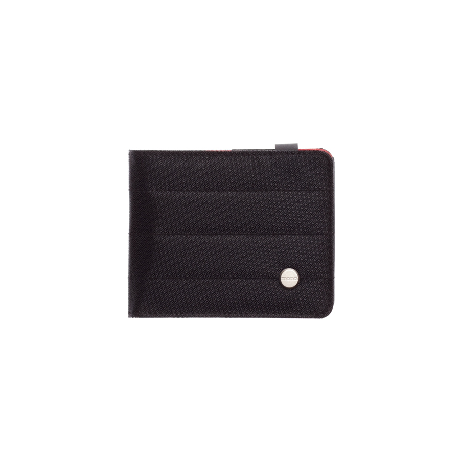 (ea)DIE CUT WALLET JET BLACK