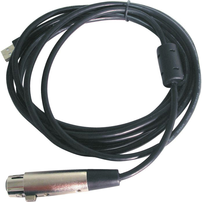 USB TO XLRF INTERFACE CABLE
