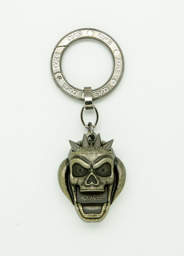 Ogre Pick Holder Keychain Gold