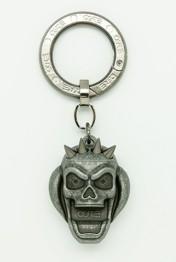 Ogre Pick Holder Keychain Gray