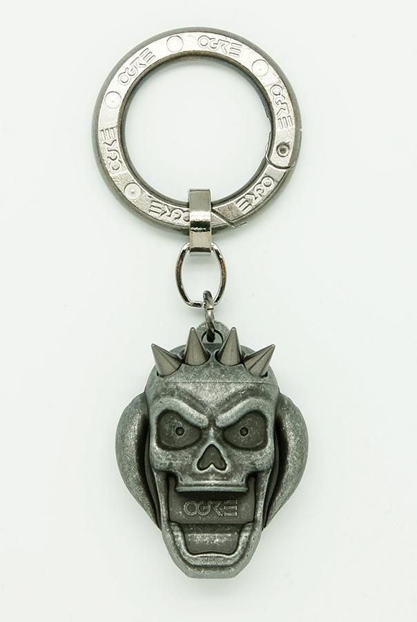 Ogre Pick Holder Keychain Gray