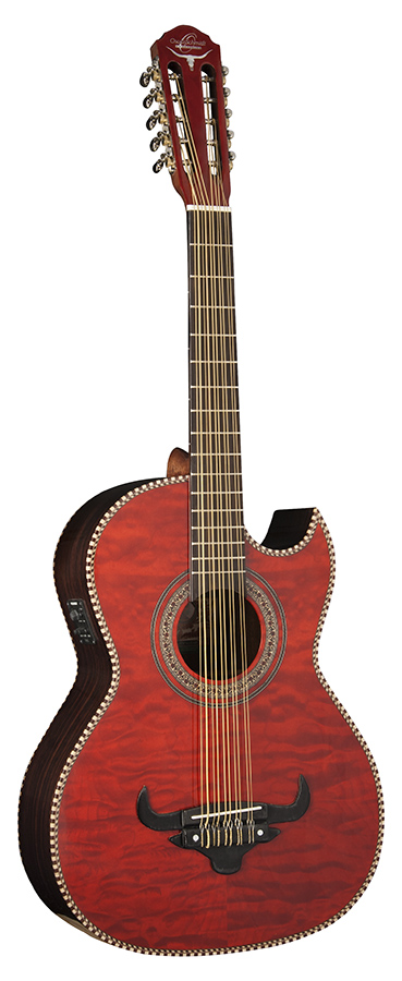 FW-Bajo Quinto W/Bag          quilt trans red