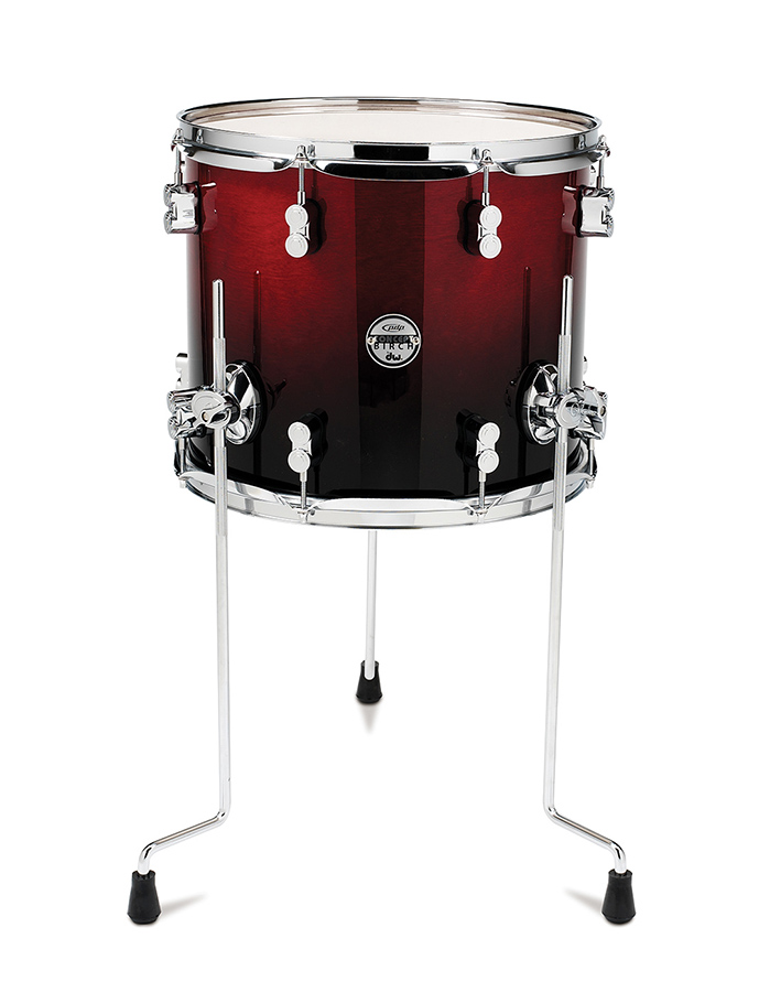 (ea)12X14 CHERRY TO BLK FADE