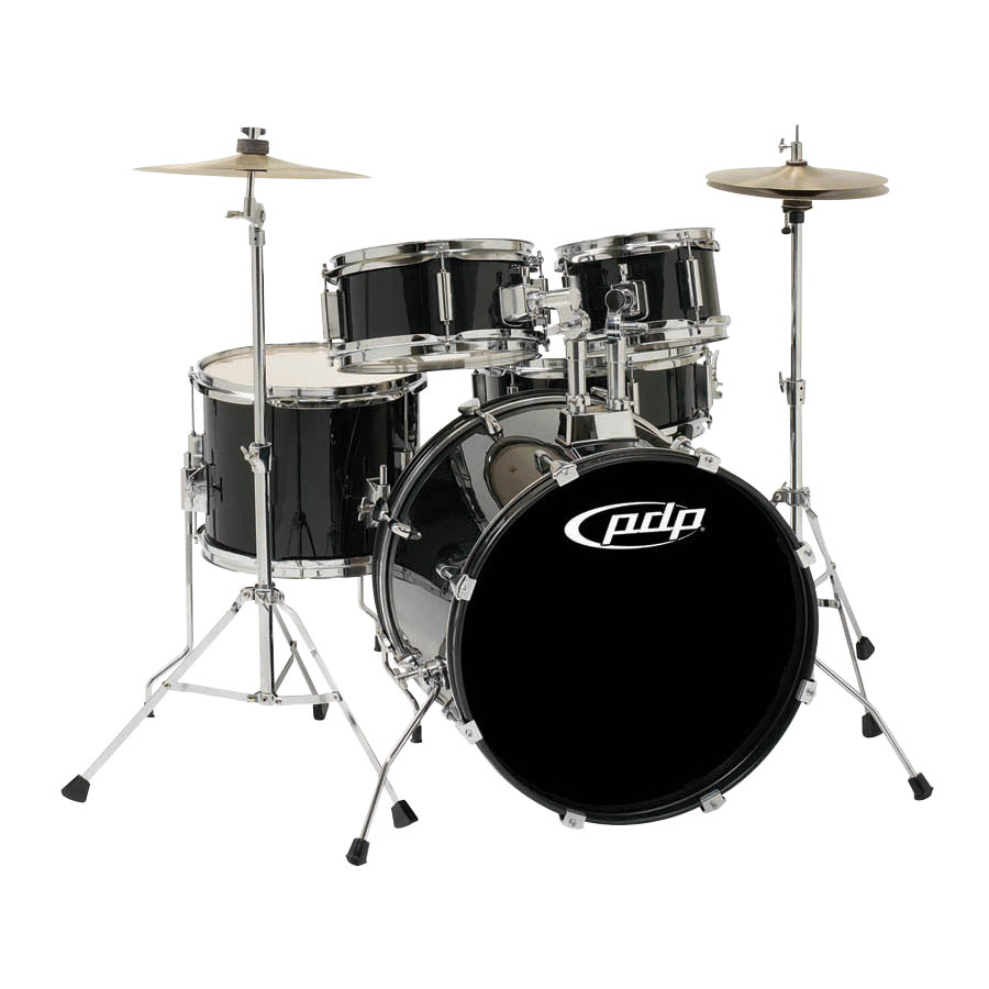 PLYR - KIT CYMBLS THRONE - BLK