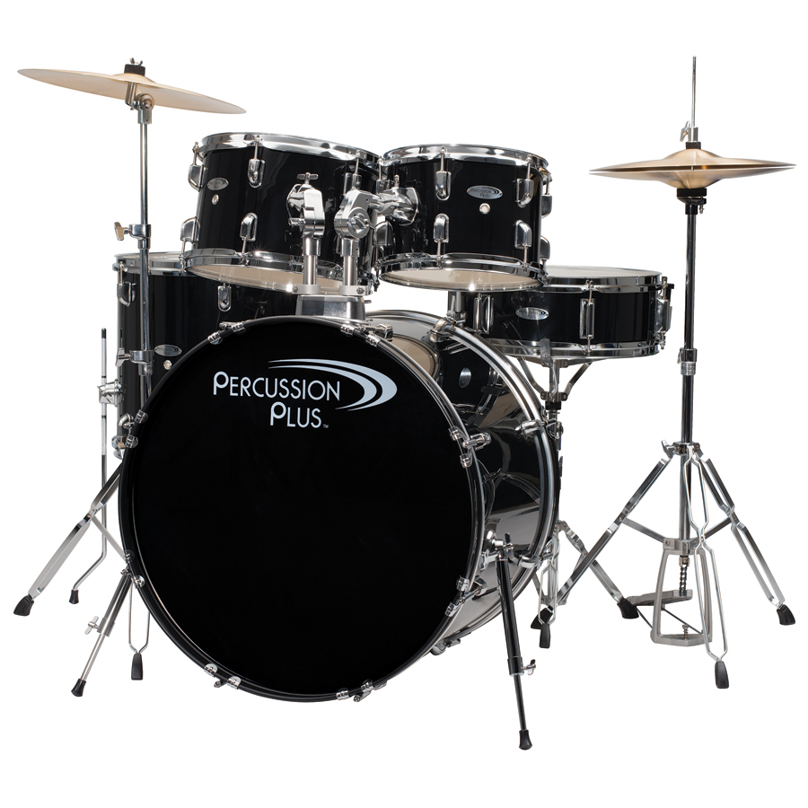 PP 5-PC DRUM ST  - BLACK