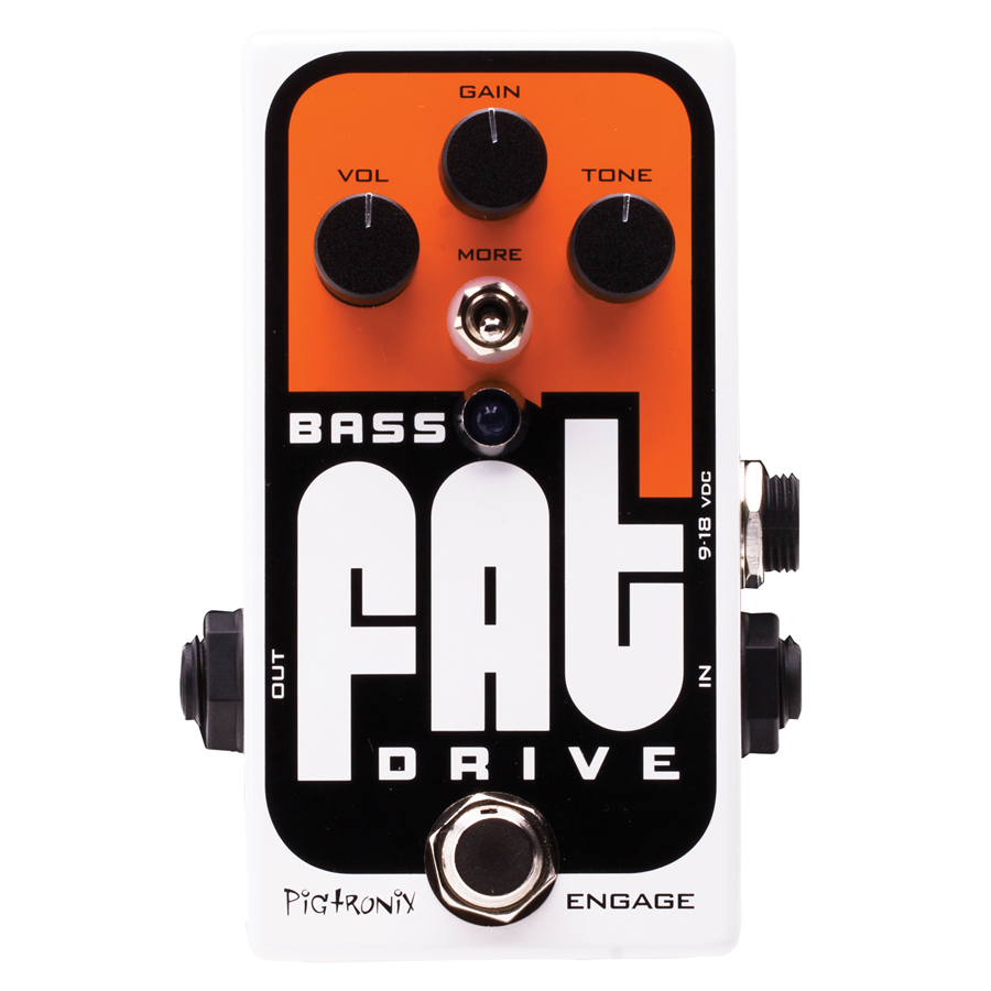 (ea)BASS FAT OVERDRIVE PEDAL