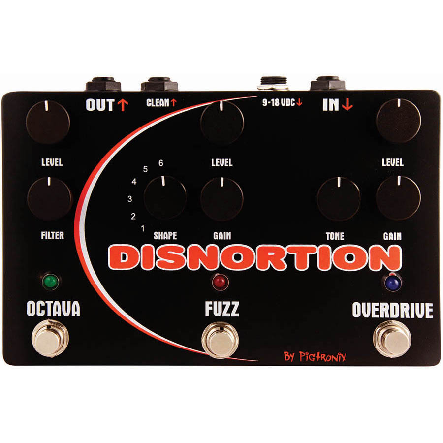 (ea)DISTORTION PEDAL          vend disc