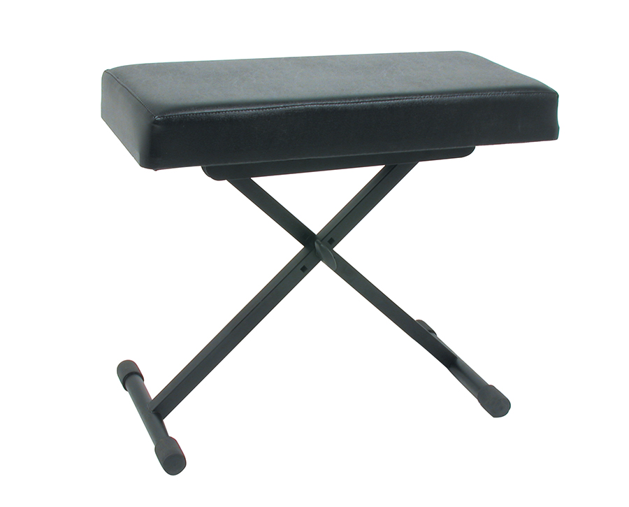 Keyboard Bench vinyl seat     3 Height Positions
