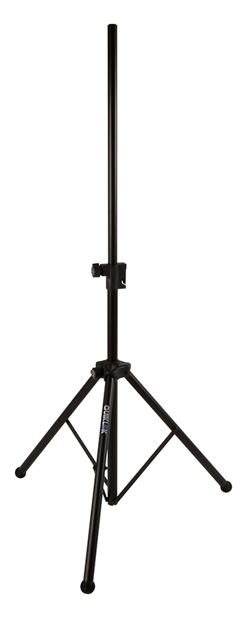 Spkr stand w air cushion      tripod style in black