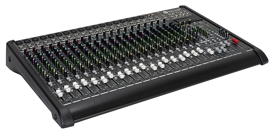 24 CHANNEL MIXER W/COMP FX