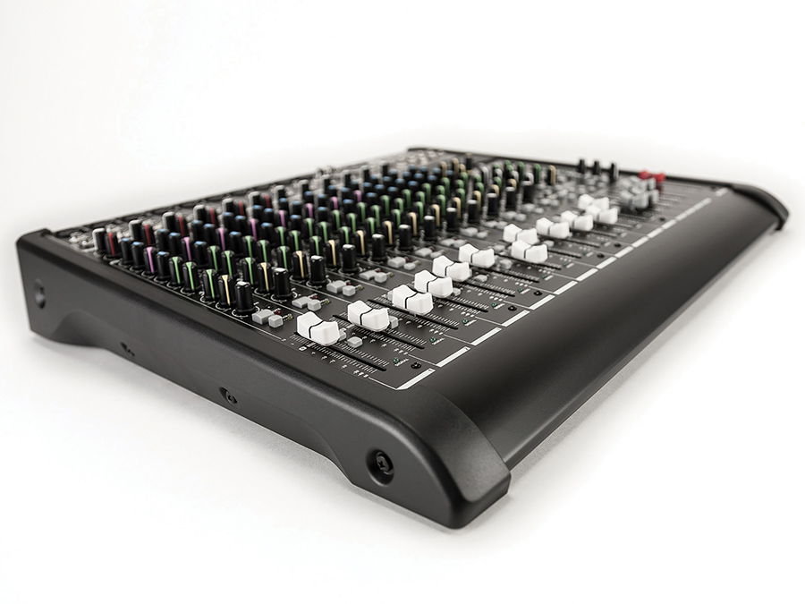 16 CHANNEL MIXER W/COMP FX