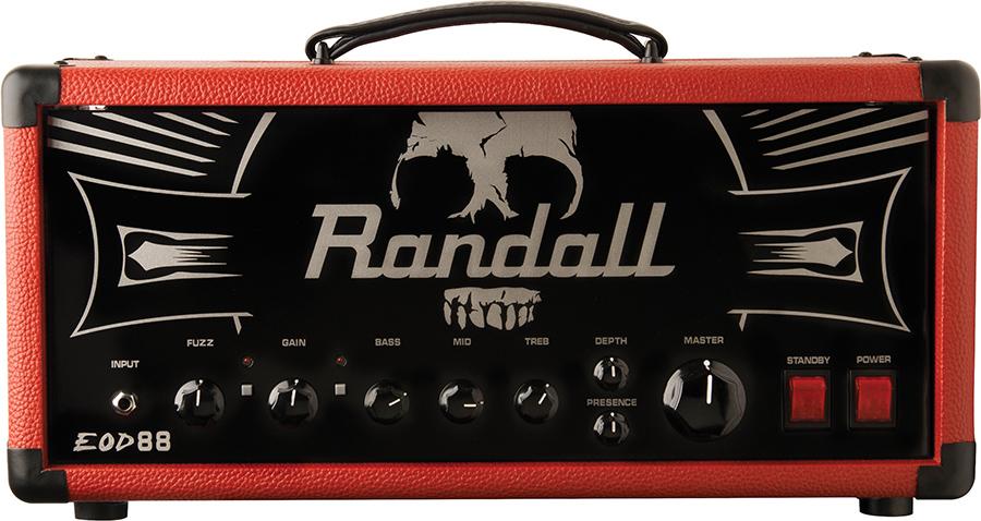 Red DOOM amp80w tube head