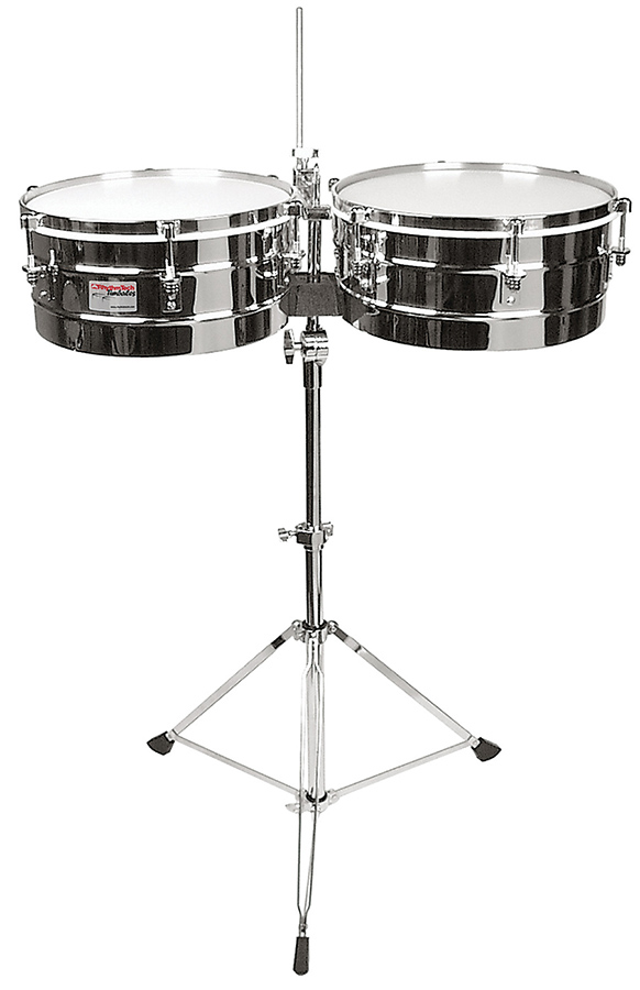 RTech Timbals-Chr w/Stnd