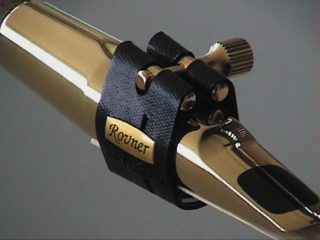 Rovner L6 Light Hard Rubber Alto Sax Lig