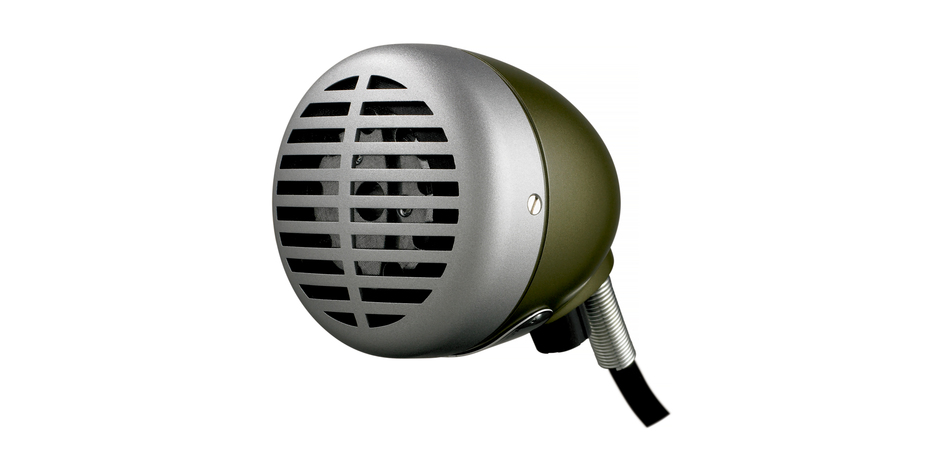 SHURE GREEN BULLET MICROPHON