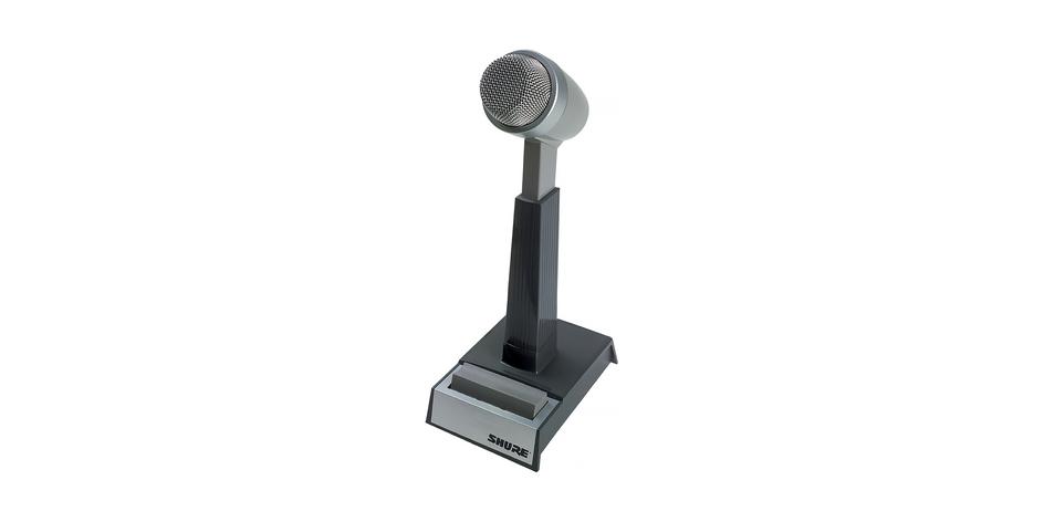 SHURE cardioid desk top mic
