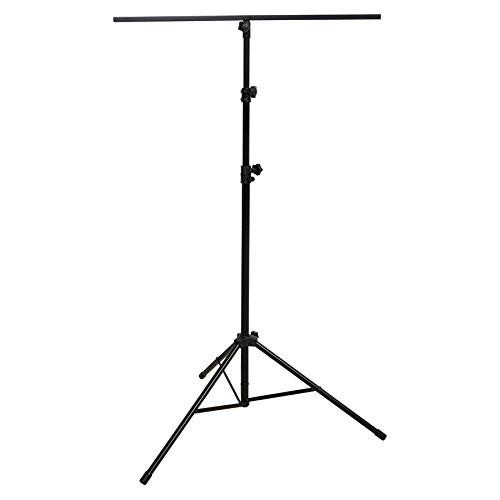 (ea)LTG STAND BLK W/3-FT BAR