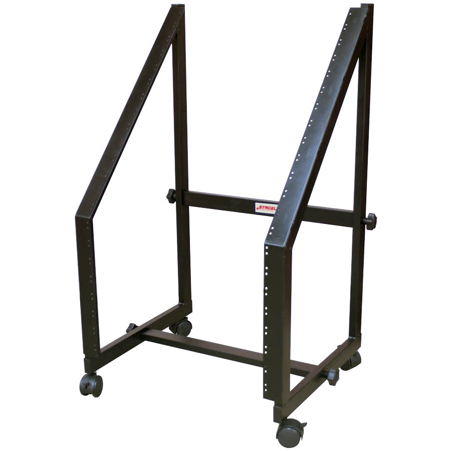 20-SPACE RACK STAND-HVY DUTY