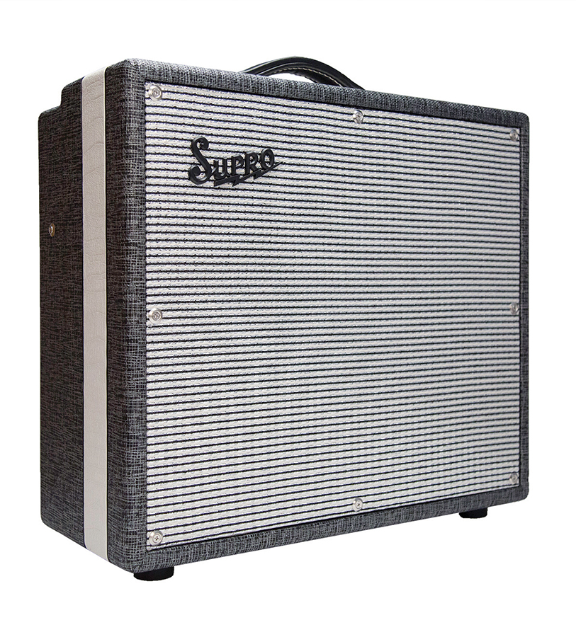 Supro Black Magick 1x12 combo Black Amp 1x12 all tube combo