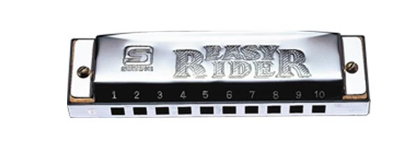 (ea)EASY RIDER 10 HOLE KEY: G