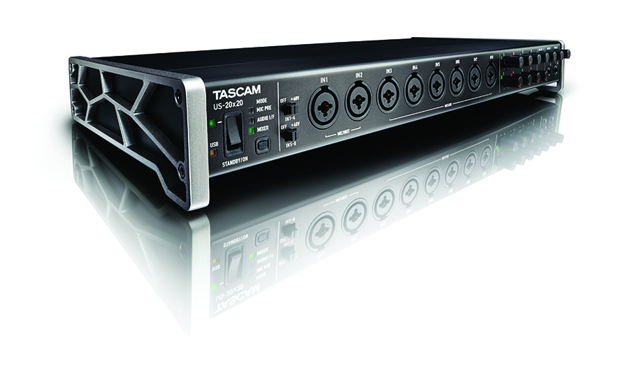 20X20 CHANNEL AUDIO INTERFACE