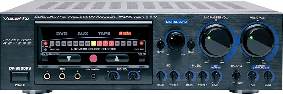 (ea)600W PRO MIXING AMP