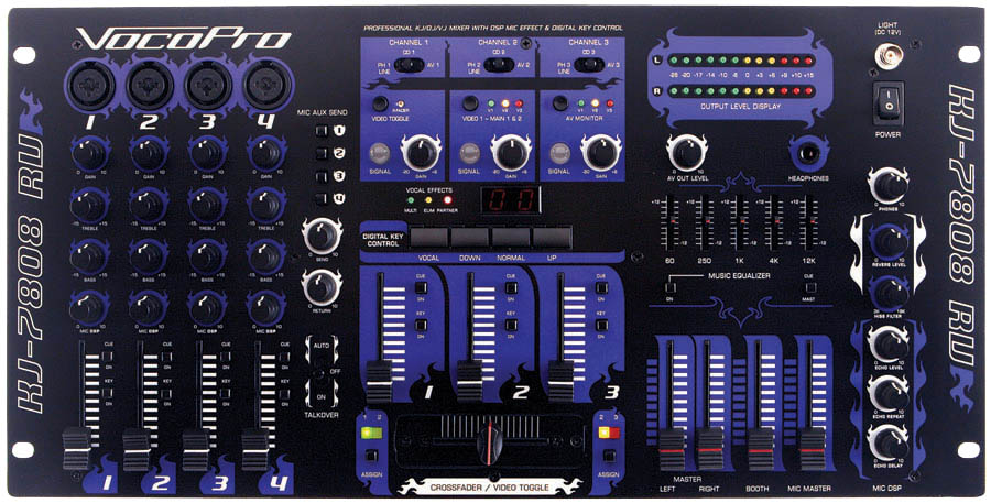 (ea)7-CH PRO DJ/KJ/VJ MIXER
