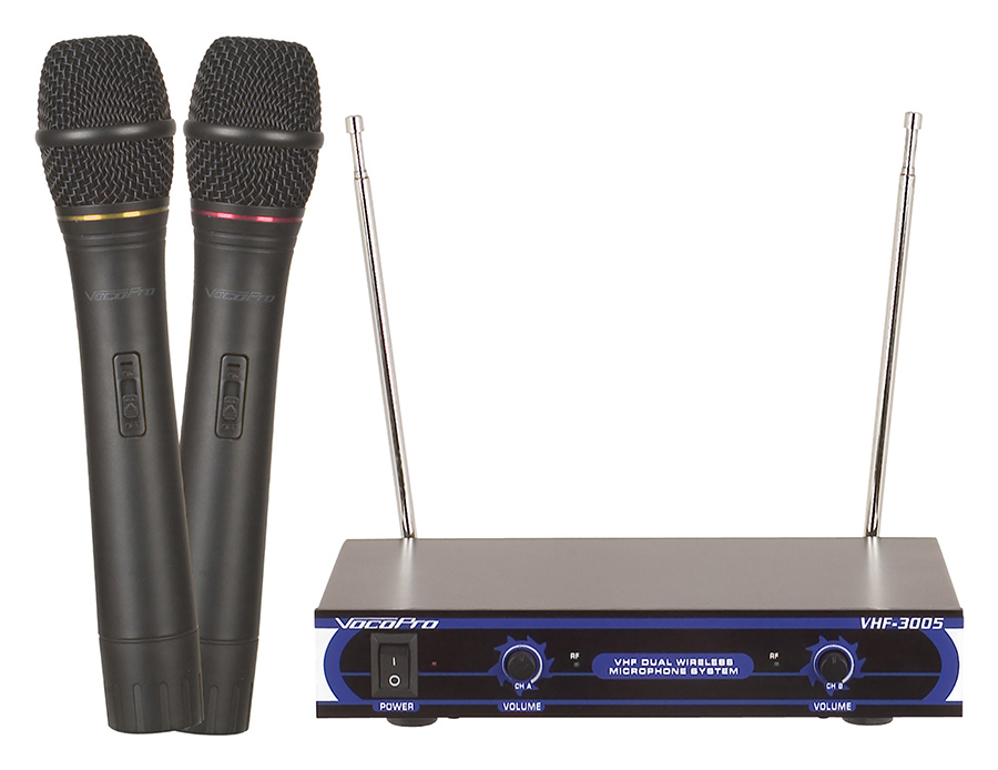(ea)DUAL CHAN WIRELESS MIC SYS