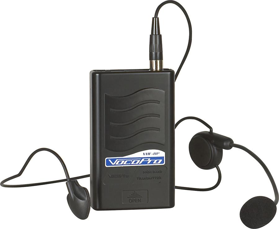 (ea)VHF HEADSET BODY PACK VM1