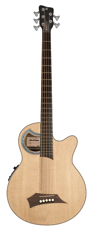 RB Alien Deluxe 5 Natural HP  Acoustic Bass