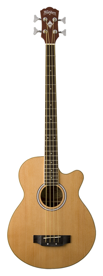 Acoustic Bass Natural         w/GB44 bag