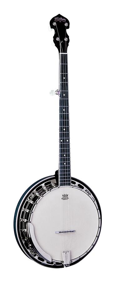 ~FW-Five String Banjo         FW                 w/BC82 case