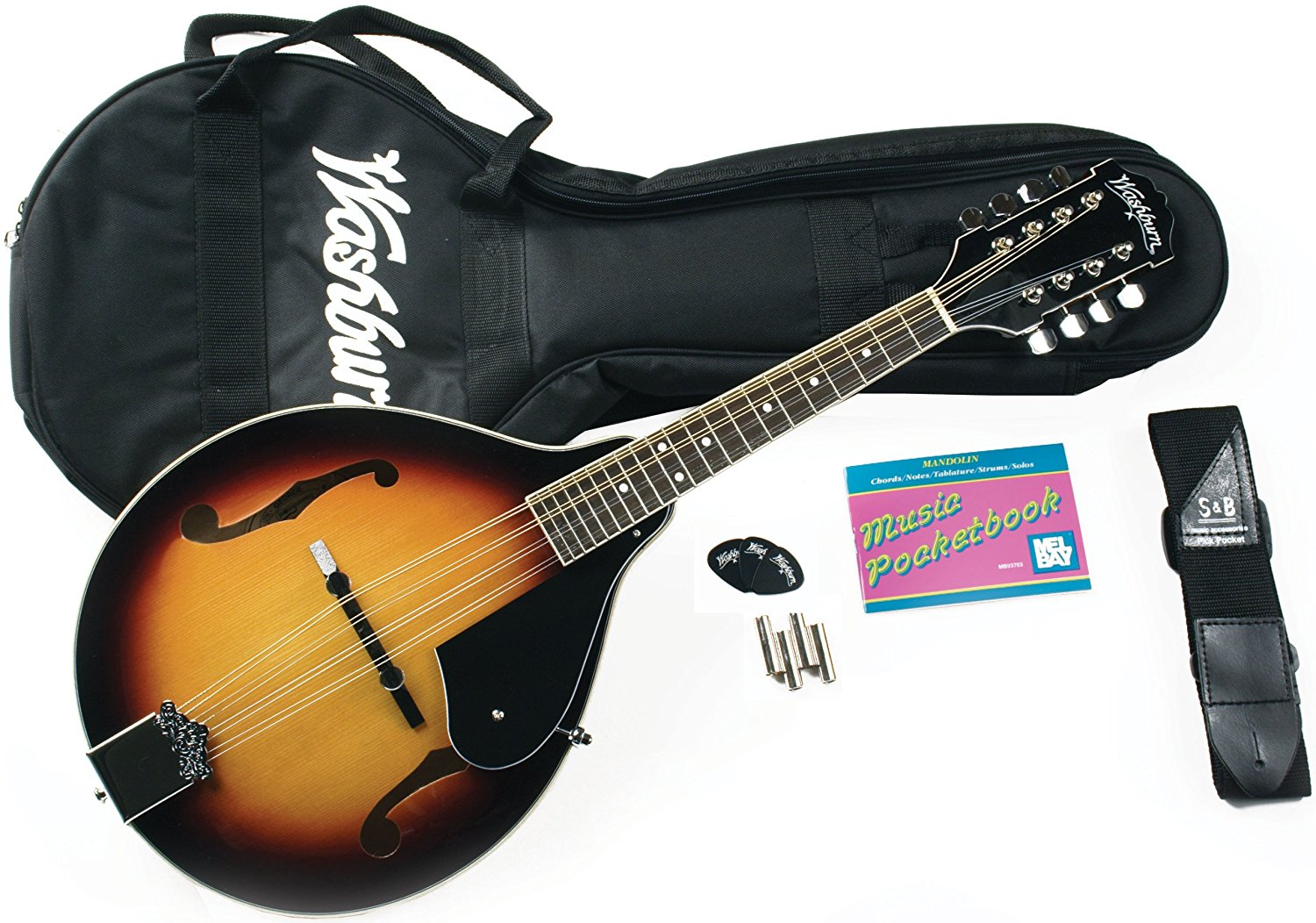 Mandolin Kit w/Gig Bag        Tobacco Sunburst