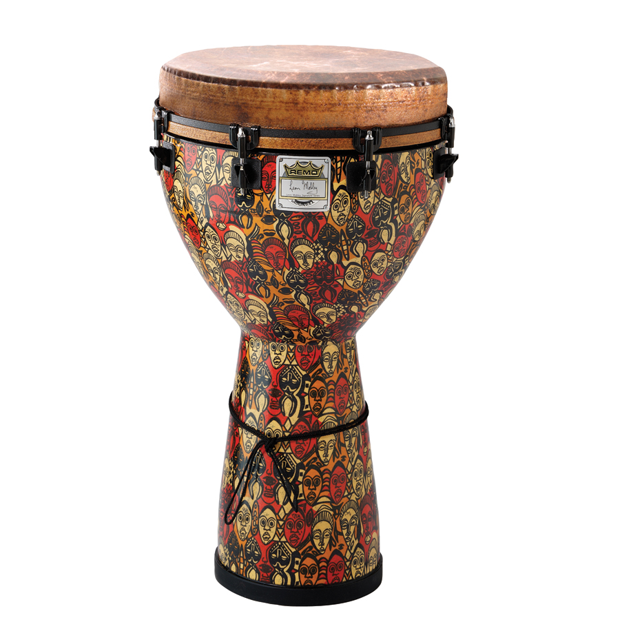 (ea)DJEMBE 24X10-MULTI MASK
