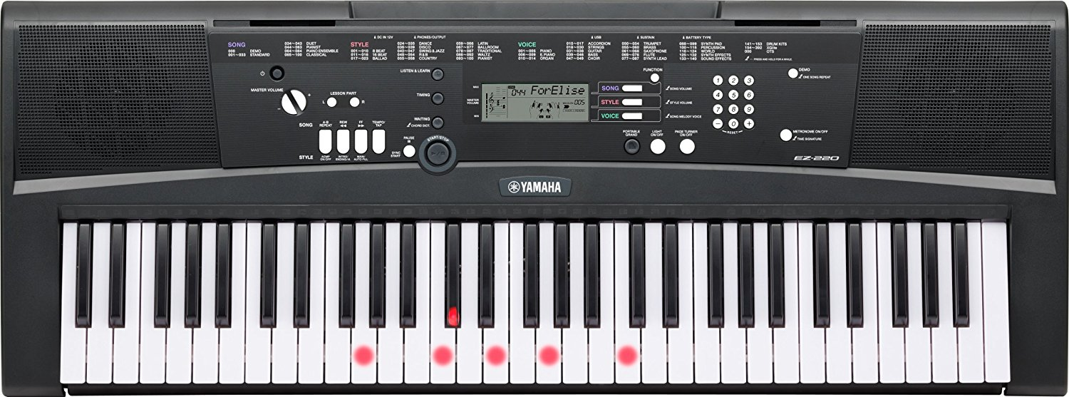 YAMAHA KYBD 61 LIGHTED KEYS