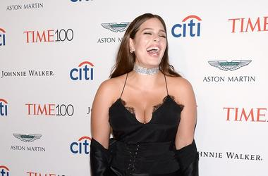 "Model Ashley Graham attends the Time 100 ""Most Influential People In The World"" Gala at the Frederick P. Rose Hall, Home of Jazz at Lincoln Center in New York, NY, on April 25, 2017."
