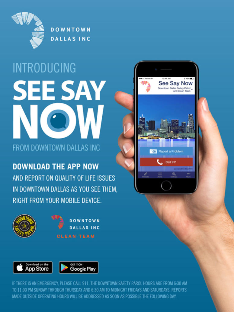 A New See Say Now App In Dallas Is All The Buzz