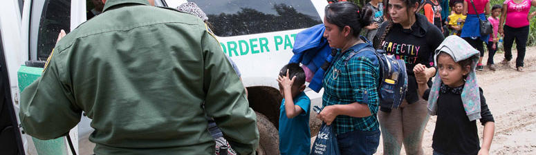Immigrant Families at Texas Border