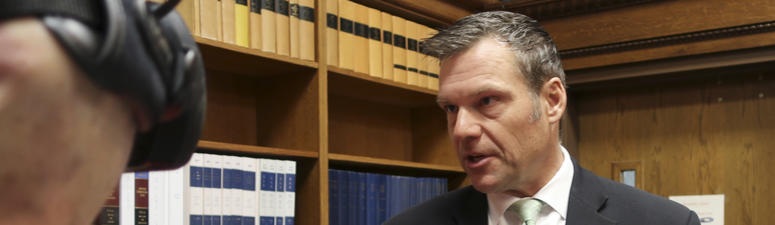 Kobach's Defeat Puts Future Of Voter Database In Doubt