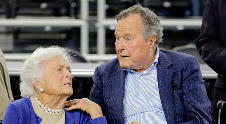 AP Photo: Barbara Bush